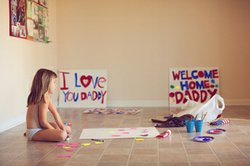 """Photograph titled, """"Welcome Home"""" taken by Deb Schwedhelm, which was displayed at the 2009 Art of Photography Show."""