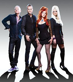 Image of the band B-52s, who will take the stage on Augus...