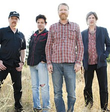 Promotional photo of the band Cracker