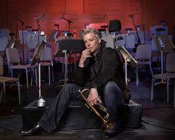 Trumpeter Chris Botti, a gifted instrumentalist and a charismatic performer in the realm of contemporary jazz, has simultaneously captured the attention of the pop music world. Credit: LeAnn Mueller