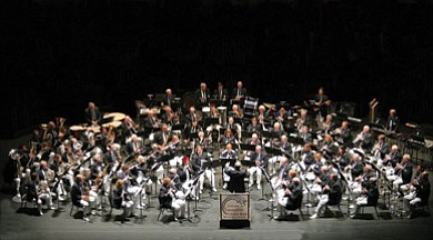 Image of  the Coastal Communities Concert Band who will perform at the California Center for the Arts on August 22.