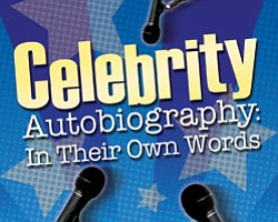 "Promotional graphic for ""Celebrity Autobiography: In Their Own Words"""