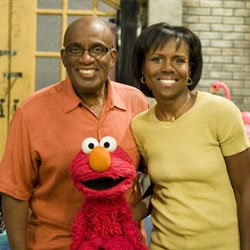 "Al Roker, Deborah Roberts and Elmo. This primetime television special features brief documentaries about real-life families and the story of a Muppet family coping with the ups and downs of these uncertain economic times. ""Sesame Workshop""®, ""Sesame Street""®, and associated characters, trademarks, and design elements are owned and licensed by Sesame Workshop. © 2009 Sesame Workshop."
