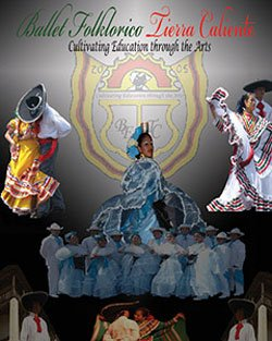 Promotional graphic for Ballet Folkorico Tierra Caliente.