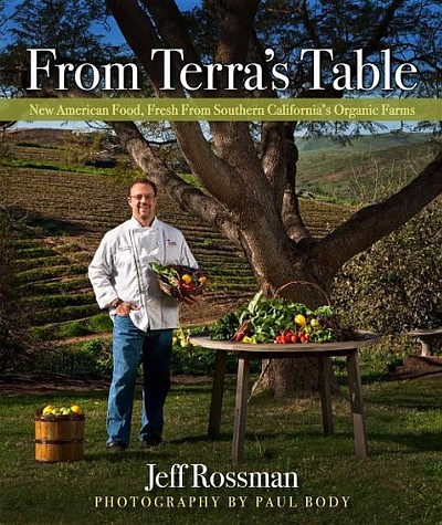 "Cover image of Jeff Rossman's book, ""From Terra's Table."""