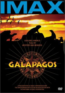 """Movie poster for the film """"Galapagos"""" in IMAX."""