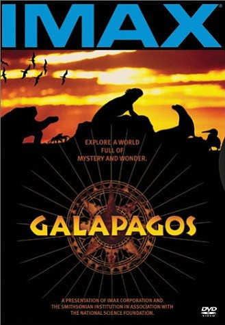 "Movie poster for the film ""Galapagos"" in IMAX."