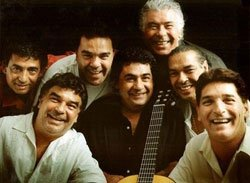 Group photo of the Gipsy Kings.