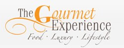 Logo for the 2010 Gourmet Experience expo in San Diego on October 9 and 10.