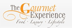 Logo for the 2010 Gourmet Experience expo in San Diego on...