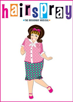 "Promotional image for the musical ""Hairspray"" which will ..."