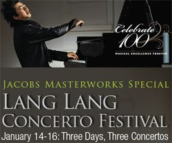 Graphic image for the Lang Lang Concerto Festival.