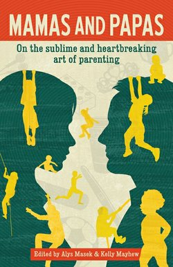 """Cover image for the collaborative book from City Works Press, """"Mamas and Papas."""""""