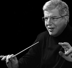 Marvin Hamlisch, preeminent conductor and one of the greatest pops artists of our time. Photo Credit: Shel Secunda, Columbia Artists Management Inc. (CAMI).