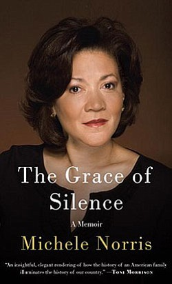 "Book cover for ""The Grace of Silence: A Memior"" by Michele Norris."