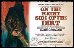 "Promotional image for ""On The Right Side Of The Dirt,"" an..."