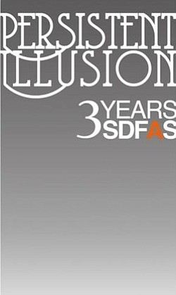 Promotional graphic for SDFAS's Persistent Illusion 3rd Birthday Soirée on Dec. 9, 2010, from 7p.m. to 10 p.m.