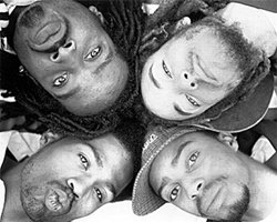 Promotional photo of The Pharcyde. Watch them perform live on January 7th, 2011.