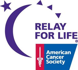 Relay for Life logo by the American Cancer Society.