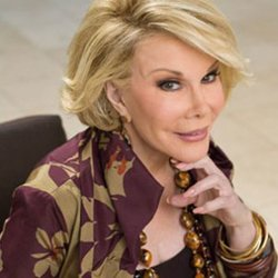 Joan Rivers will be speaking at the Balboa Theatre January 15th, 2011.