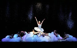 "Performance photo of ballet dancers in ""The Nutcracker,"" ..."
