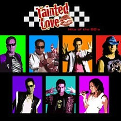 Graphic image of the 80s cover band, Tainted Love, who will play at the Belly Up Tavern on Nov. 20, 2010.