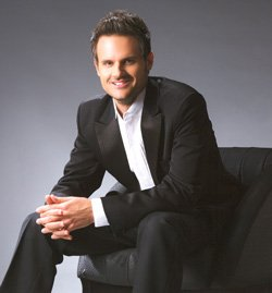 Image of Dr. Todd Rewoldt, this years performer at Rhapsody on the Point.