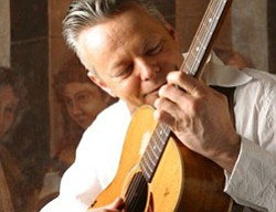 Photo of Tommy Emmanuel playing guitar. Two-time Grammy nominee Tommy Emmanuel has a professional career that spans over four decades and continues to intersect with some of the finest musicians throughout the world.