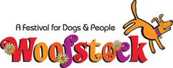 Graphic logo for Woofstock 2010: A Festival for Dogs & People on April 10, 2010 in Balboa Park.