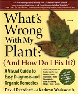 "Graphic cover of ""What's Wrong With My Plant?"" by David D..."