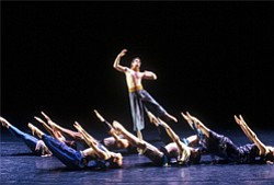 Image of dancers from the Malashock Dance Company.