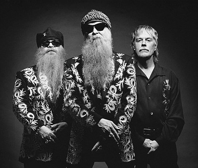 Hall of Fame band, ZZ Top, who will perform the final performance of the Del Mar 2010 summer concert series.