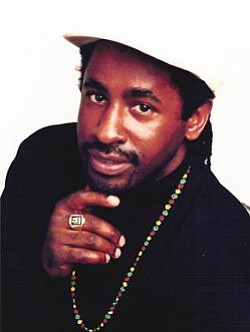 Promotional photo of musical artist Pato Banton.
