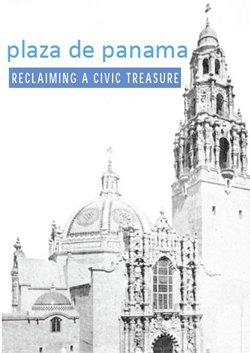 Promotional Graphic for Plaza de Panama Reclaiming a Civic Treasure.