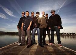 Graphic of Musical Artist Ozomatli.