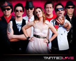 Promotional Graphic of the band, Tainted Love.