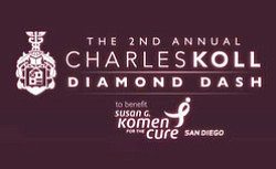 Promotional logo for the 2nd Annual Charles Koll Diamond ...