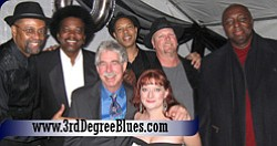 Promotional photo of 3rd Degree, a blues band from Southern California