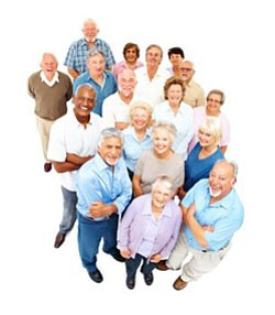 Promotional image for Golden Future 50+ Senior Expo.