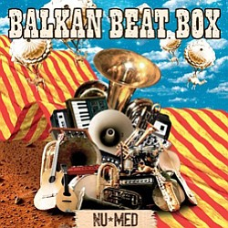 Promotional Graphic of Musical Artist Balkan Beat Box.