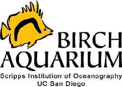Logo for the Birch Aquarium at Scripps.