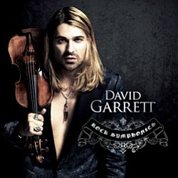 "Promotional graphic for the ""David Garrett: Rock Symphonies"" CD."