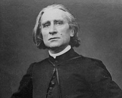 Franz Liszt, 1860s or 1870s, musée d'Orsay, Paris, France. Photo Credit: Pierre Petit