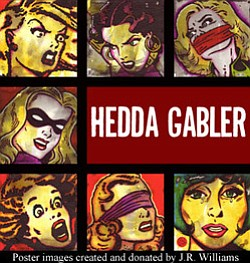 Hedda Gabler promotional graphic.