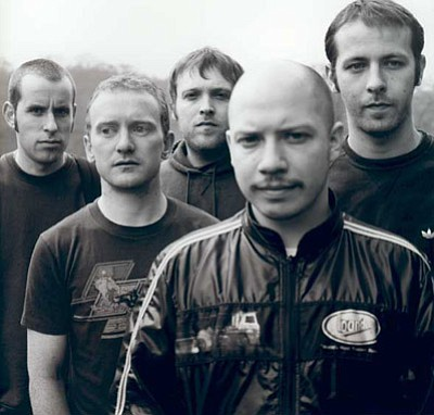 Promotional photo of one of the most influential and best known post-rock bands, Mogwai.