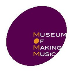 Graphical logo of Museum of Music Making.