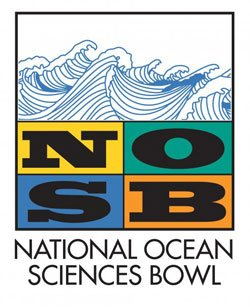 Promotional logo for the National Ocean Sciences Bowl.
