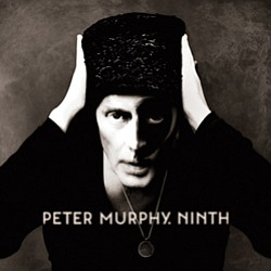 """Graphic Cover Image of Peter Murphy's Album, """"Ninth."""""""