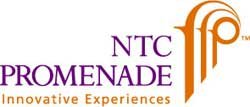 Graphic logo for the NTC Promenade Arts & Cultural District