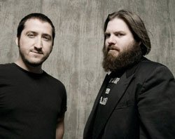 Image of the band Pinback.